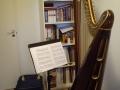 Regał + harfa
